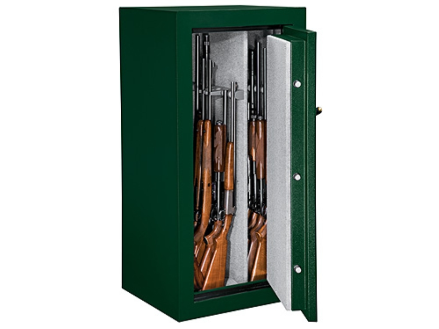 Stack-On Elite 24-Gun Fire-Resistant Safe with Combination Lock Hunter Green