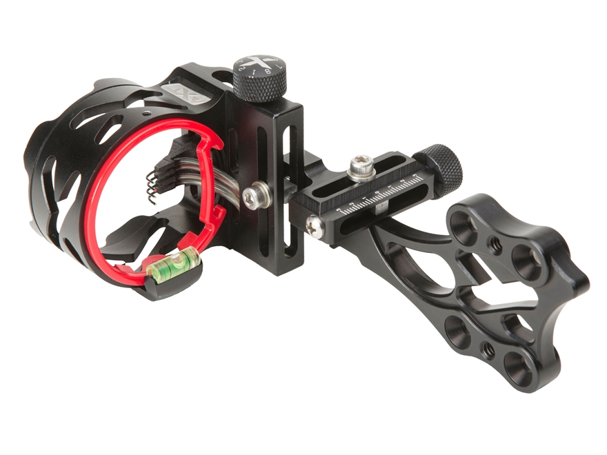 "Archer Xtreme HeadHunter Micro Xtreme 4-Pin Bow Sight .019"" Diameter Pins Blackout"