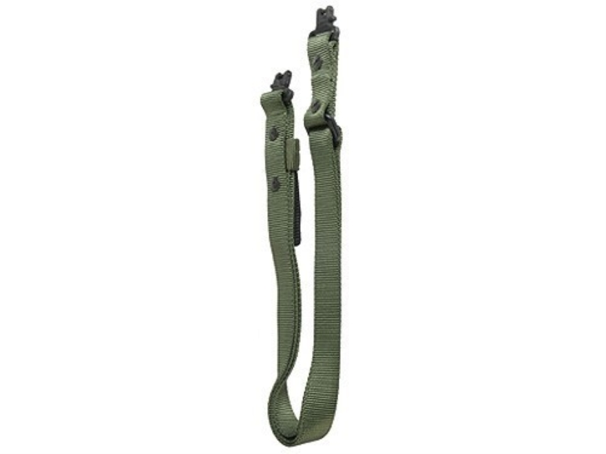The outdoor connection super sling swivels nylon olive drab for Outdoor connection