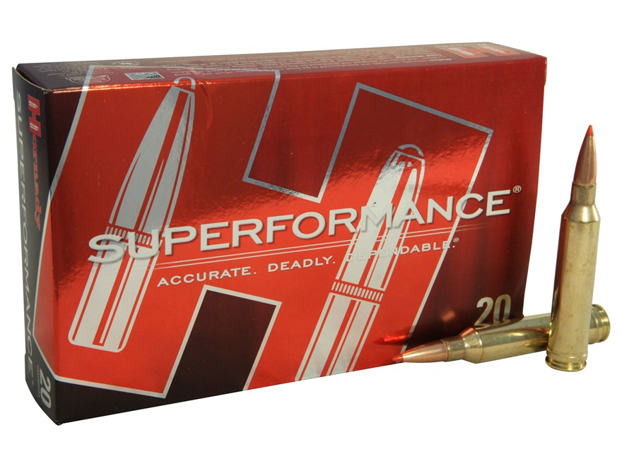 Hornady SUPERFORMANCE SST Ammunition 7mm Remington Magnum 162 Grain SST Box of 20