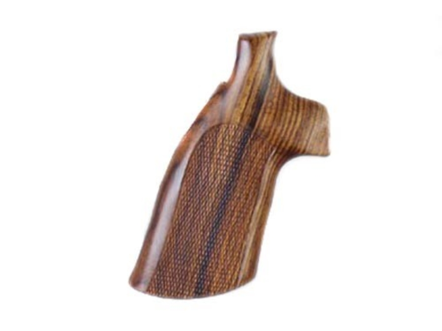 Hogue Fancy Hardwood Grips Colt Trooper Mark III Checkered