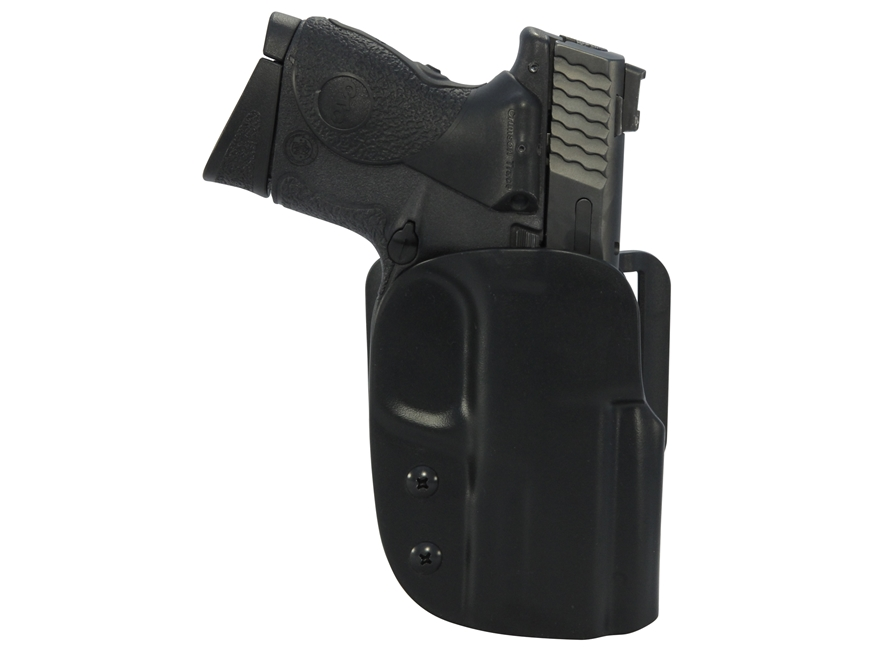 Blade-Tech ASR Outside the Waistband Holster Right Hand S&W M&P Compact 9mm, 40 S&W Kydex Black