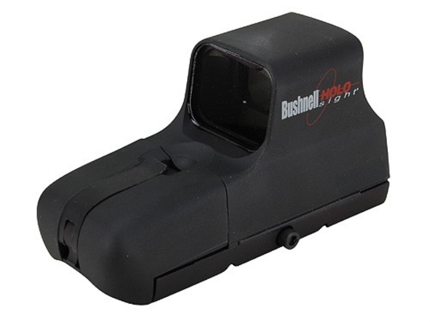 Bushnell Red Dot Sight 65 MOA Circle with 1 MOA Dot Reticle 1.5 Volt N Battery with Integral Weaver-Style Mount Matte