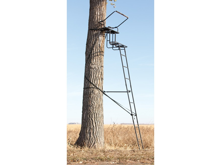 Big Game The Raven Ladder Double Treestand Steel Black