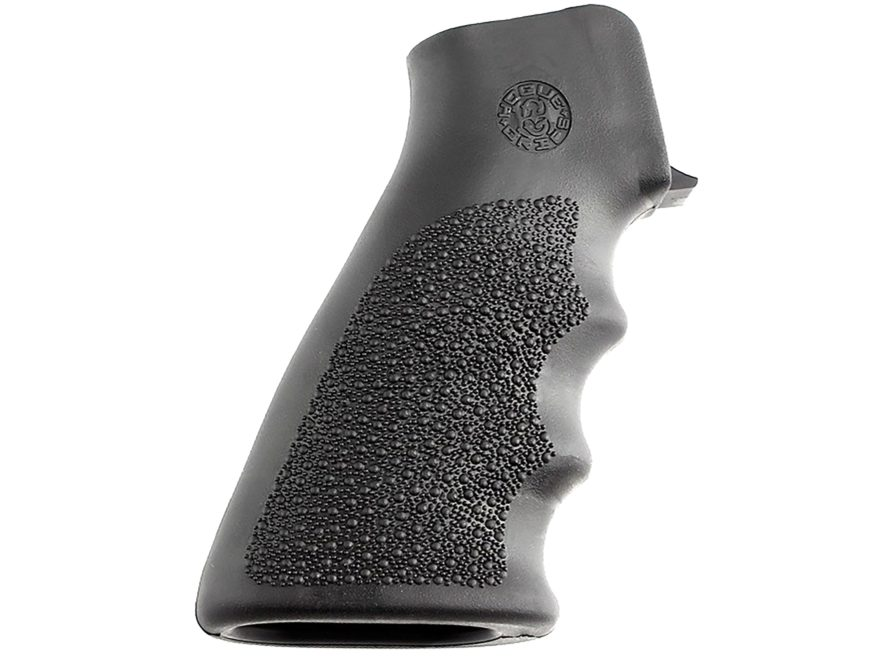 Hogue OverMolded Pistol Grip AR-15 Rubber
