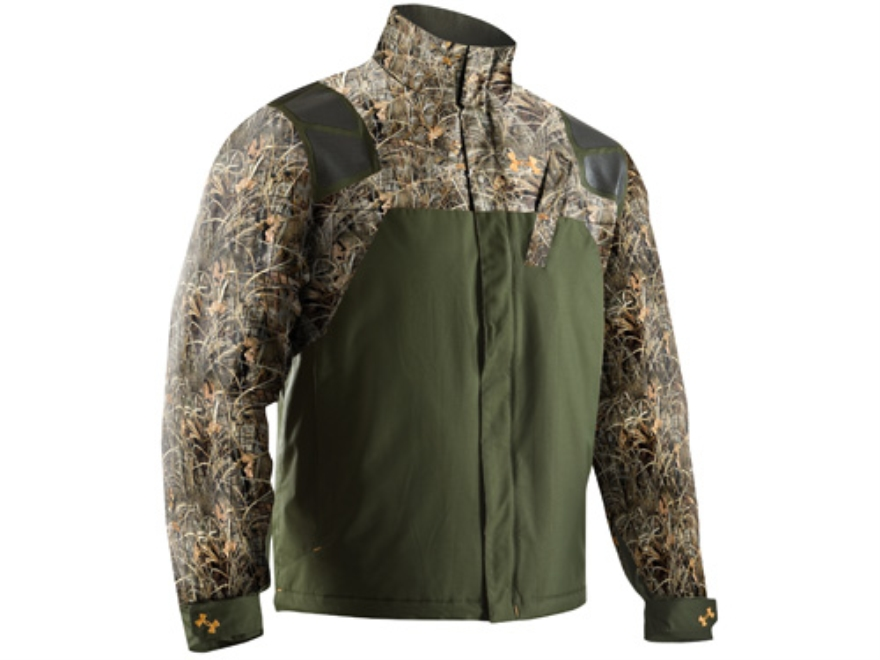 Under Armour Men's SkySweeper Jacket Polyester Realtree Max-4 Camo XL 46-48
