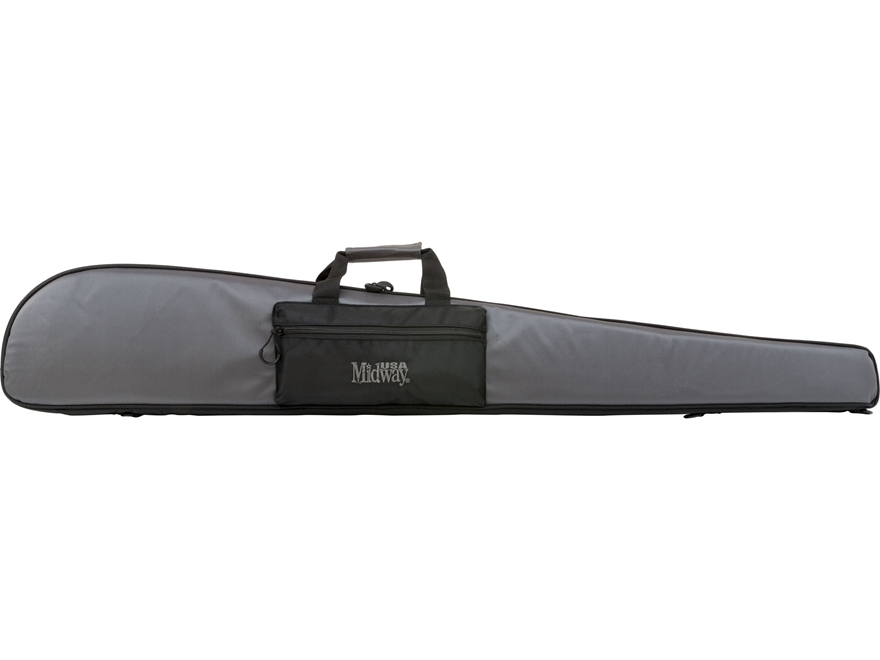 "MidwayUSA Pro Series Shotgun Case 50"" Nylon Gray and Black Factory Second"