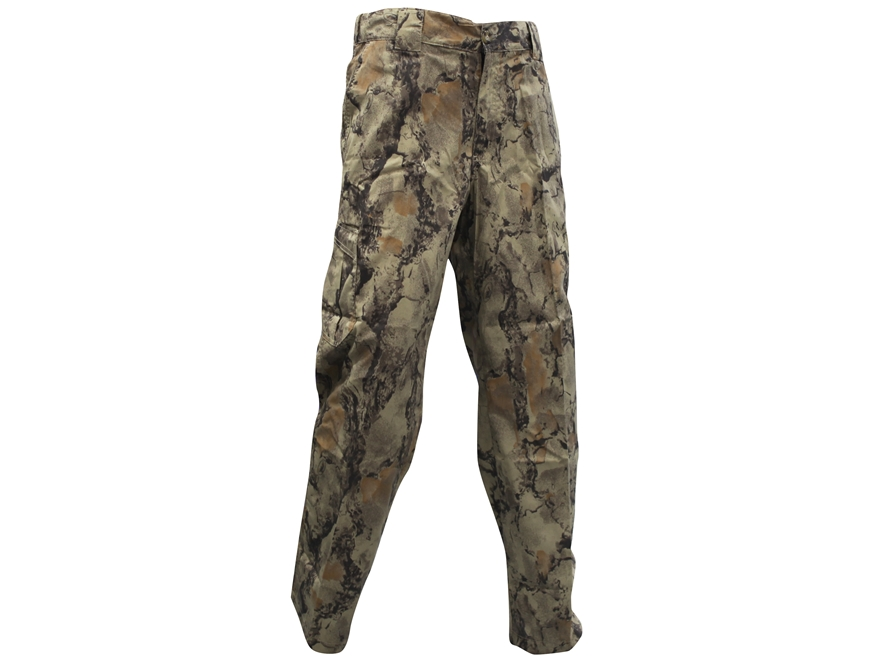 Natural Gear Mens Lightweight Pants Cotton/Poly Blend