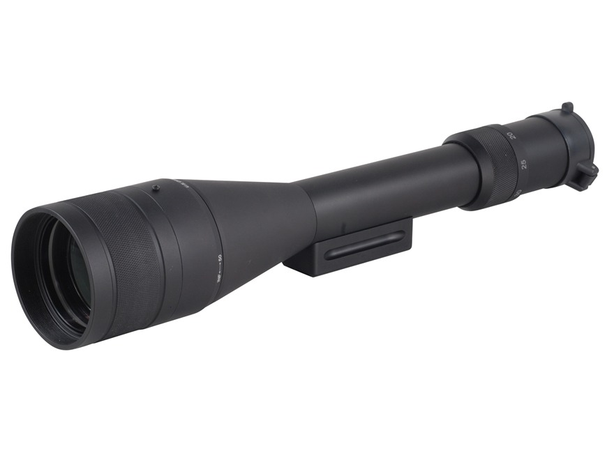 U.S. Optics Field Observation Scope 15-40x 60mm Straight Body with First Focal MDMOA Reticle Black