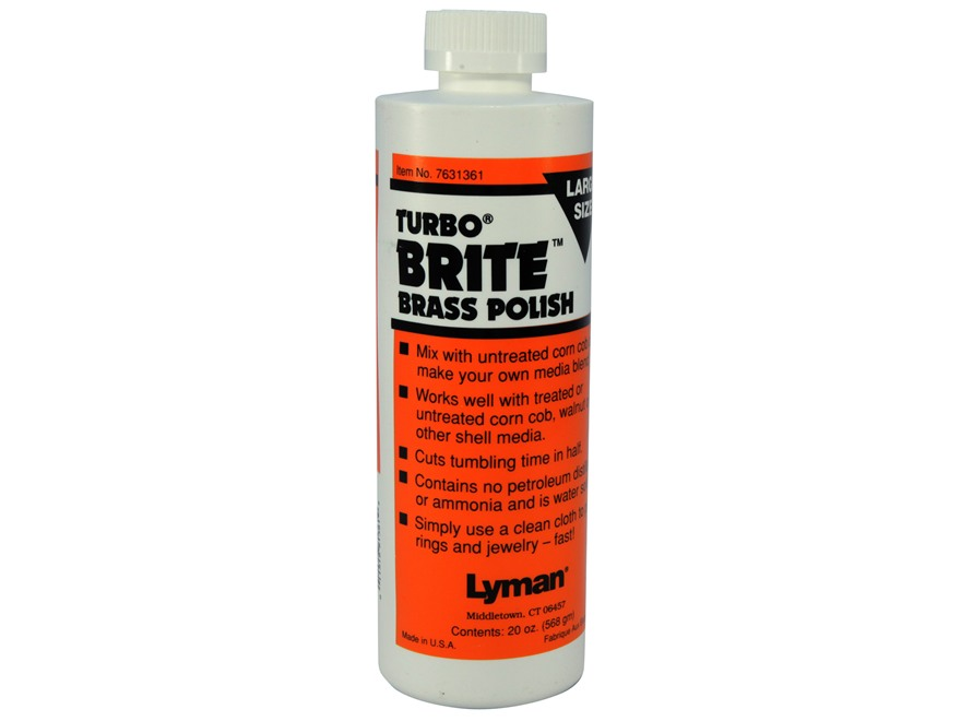 Lyman Turbo Brite Brass Case Polish