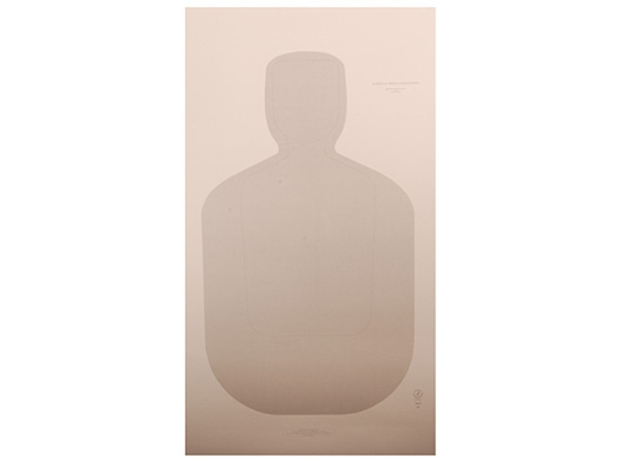 "NRA Official Training and Qualification Targets Law Enforcement TQ-21 24"" x 42"" Paper Package of 100"