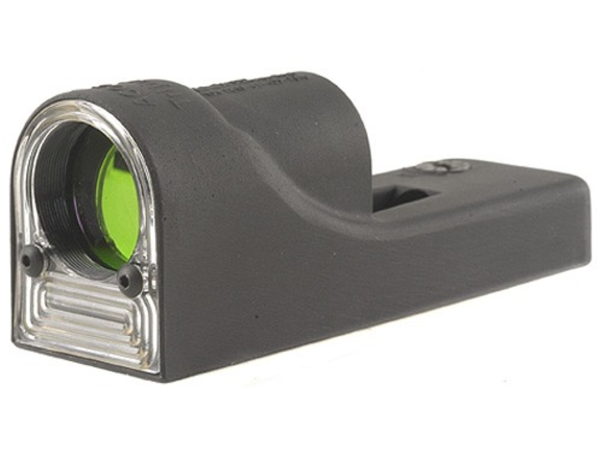 Trijicon RX06 Reflex Sight 1x 24mm 12.9 MOA Dual-Illuminated Amber Triangle Matte without Mount Matte