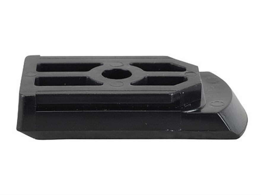 Ruger Magazine Floorplate 15-Round Snap On Ruger P89D, P944D, P89DAO, P93DAO, P94DAO, P944DAO, P89DAO, P93DAO, P94DAO, P944DAO 9mm Luger, 40 S&W Serial Numbers 304-70000 and Above Polymer Black