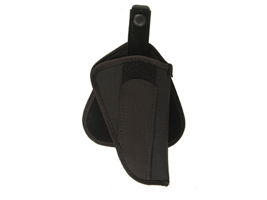 "Uncle Mike's Paddle Holster Right Hand  Medium Double-Action Revolver 4"" Barrel Nylon Black"