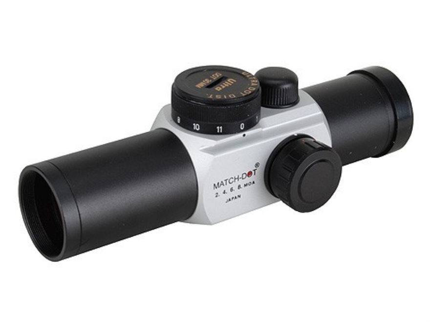 UltraDot Matchdot Red Dot Sight 30mm Tube 1x 2, 4, 6, 8 MOA Dot Matte
