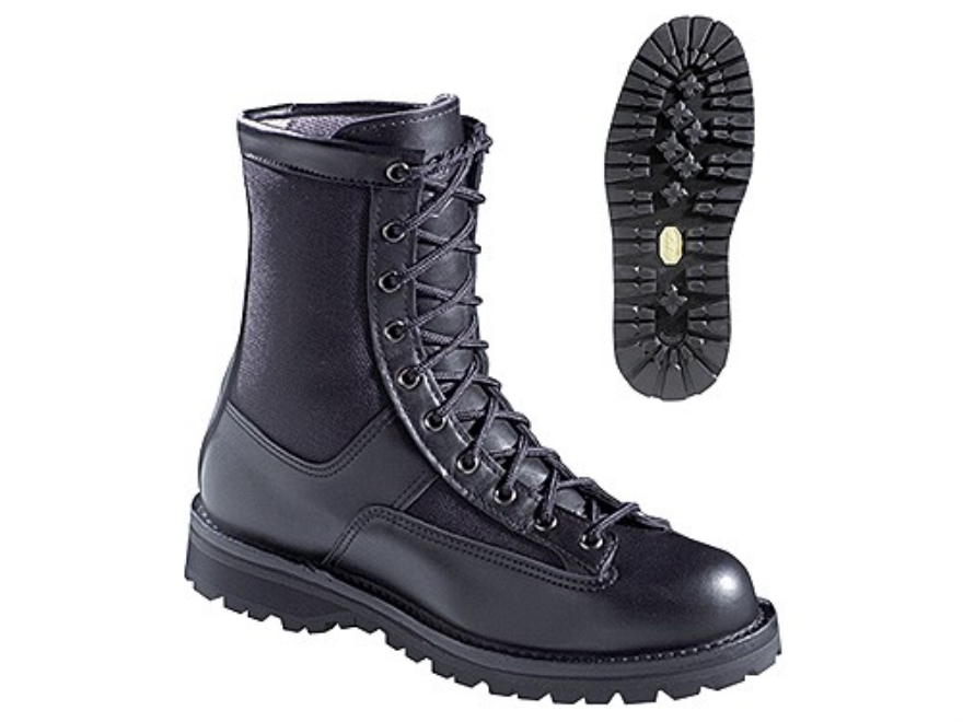 """Danner Acadia 8"""" Waterproof Uninsulated Tactical Boots Leather and Nylon Black Men's"""