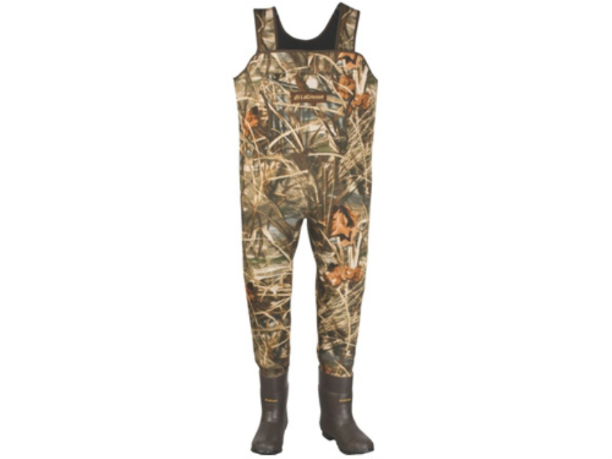 LaCrosse Mallard 3.5mm 1000 Gram Insulated Neoprene Chest Waders Realtree Max-4 Camo Mens 9