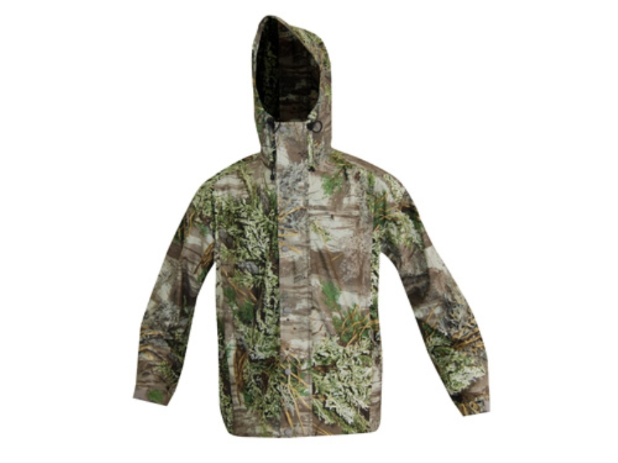 Russell Outdoors Men's Raintamer 2 Rain Jacket Polyester Realtree Max-1 Camo XL 46-48