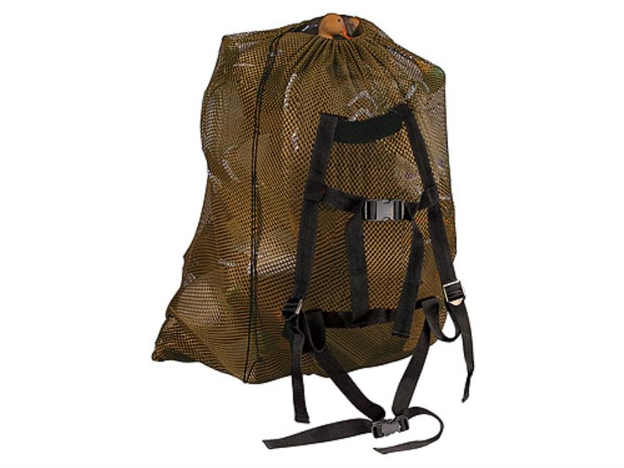 """Allen Magnum Decoy Bag 47"""" x 50"""" Nylon Mesh Tan"""