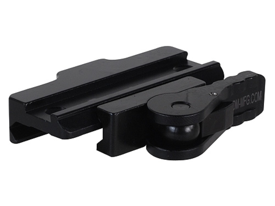 American Defense AD-170 Riser with Quick-Release Picatinny-Style Mount Aluminum Matte