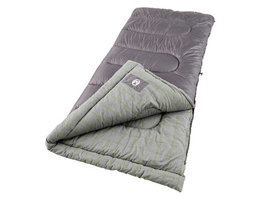 coleman lassen 20 40 degree sleeping bag 33 x 75 polyester purple gray. Black Bedroom Furniture Sets. Home Design Ideas