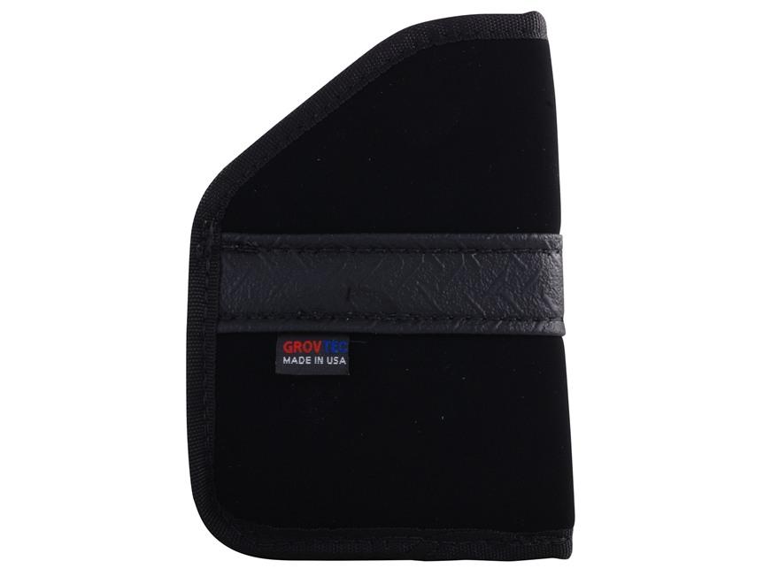 GrovTec GT Pocket Holster Ambidextrous Small Frame 380 ACP Semi-Automatics Nylon Black