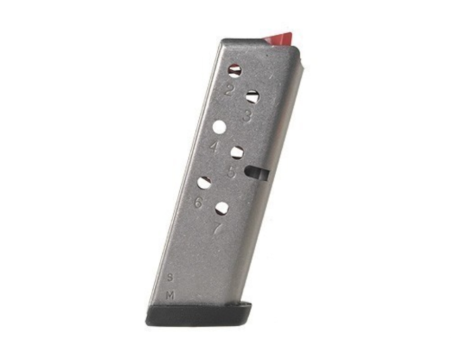 Smith & Wesson Magazine S&W 3913TSW, 3953TSW 9mm Luger 7-Round Stainless Steel