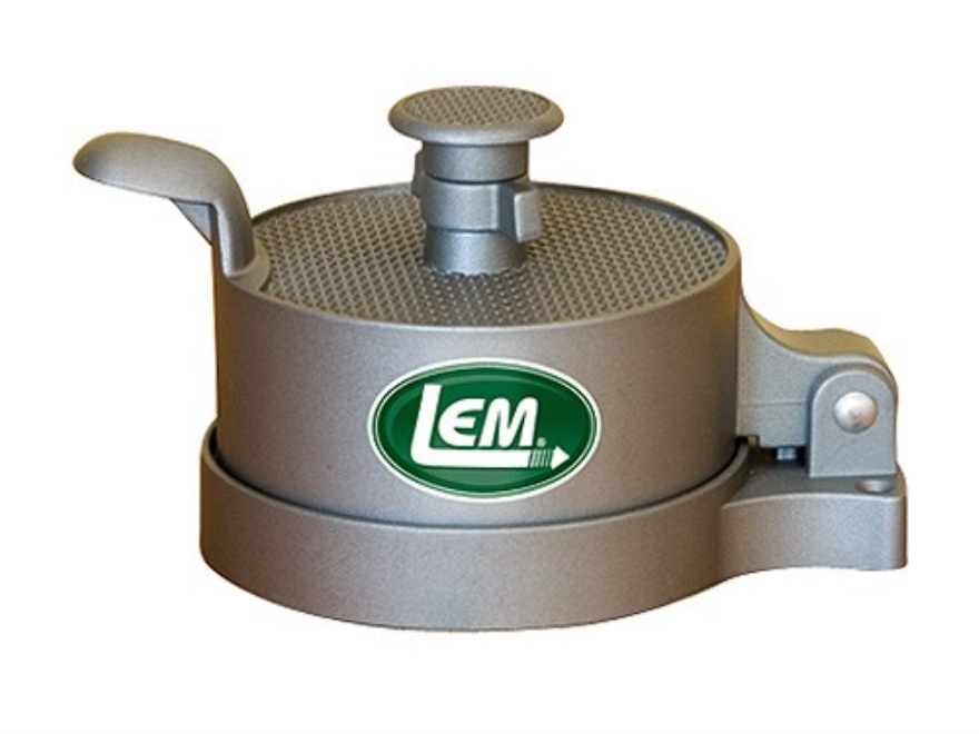 LEM Heavy Duty Non-Stick Burger Press Aluminum