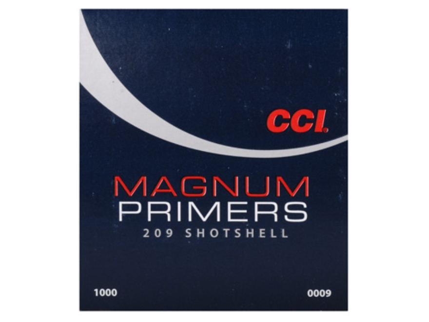CCI Primers #209M Shotshell Magnum