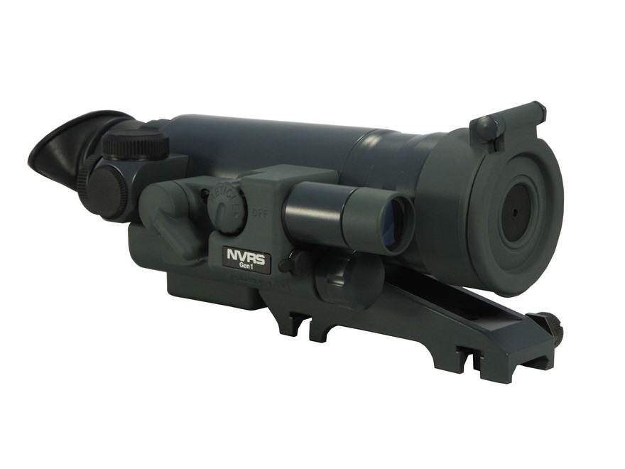 Yukon NVRS Titanium Mini Varmint 1st Generation Night Vision Rifle Scope 1.5x 42mm with Integral Weaver-Style Mount Illuminated Reticle Green
