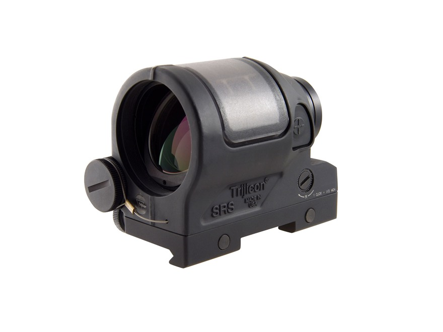 Trijicon SRS Reflex Red Dot Sight 1.75 MOA Dot Quick Release Picatinny-Style Mount AR-15 Flat-Top Matte