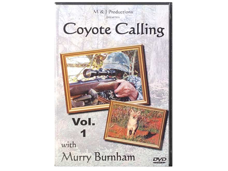 "Crit'R Call ""Coyote Calling With Murry Burnham"" Predator Hunting DVD"