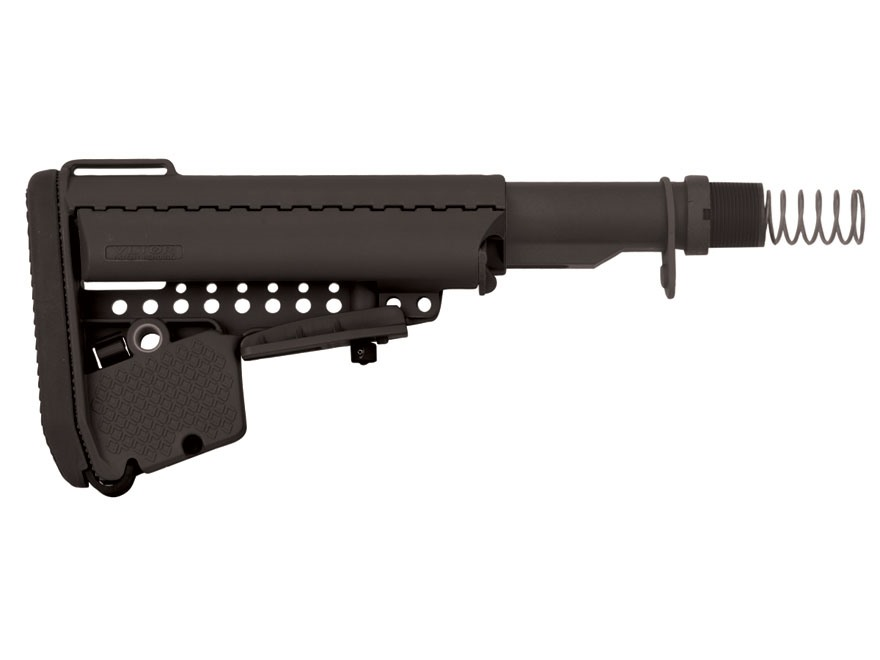 Vltor EMod Basic Stock Assembly 5-Position Mil-Spec Diameter Collapsible AR-15 Carbine Synthetic