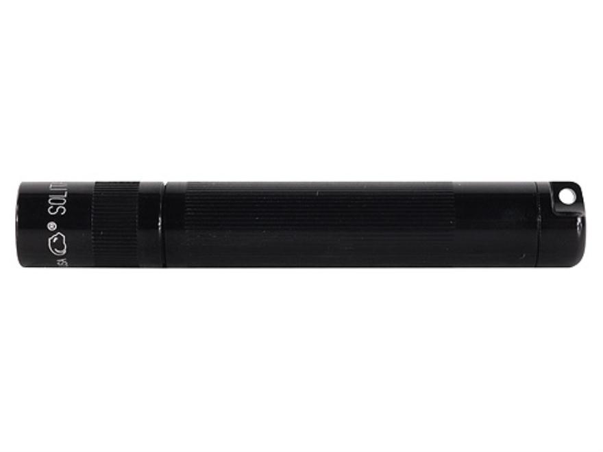 Maglite Solitaire Flashlight Krypton with 1 AAA Battery Aluminum Black