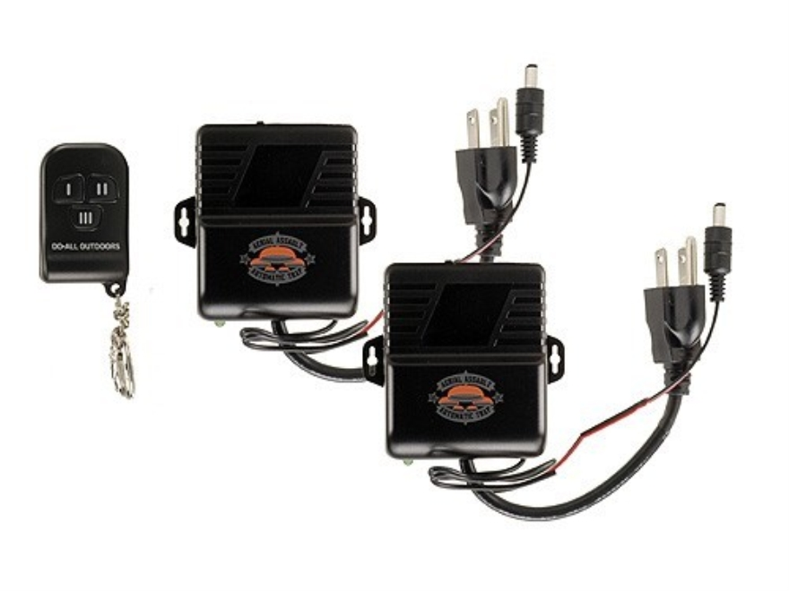 Do-All Aerial Assault Double Wireless Remote Kit for Electric Clay Target Thrower