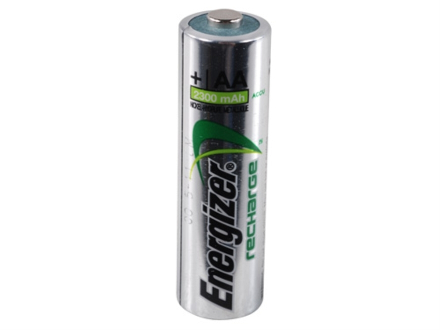 Energizer Rechargeable Battery AA 1.5 Volt NiMH 2300 mAH Pack of 4
