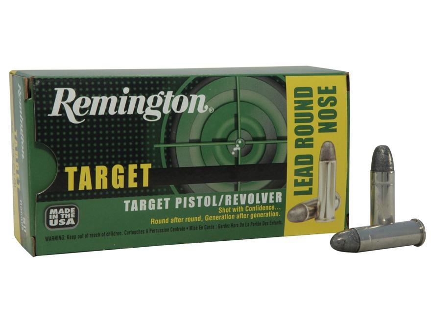 Remington Target Ammunition 38 Special 158 Grain Lead Round Nose Box of 50