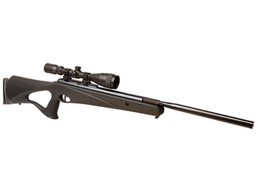 Benjamin Trail NP Nitro Piston All Weather Air Rifle 22 Caliber Pellet Synthetic Stock Matte Barrel with 3-9x 40mm AO Scope Matte