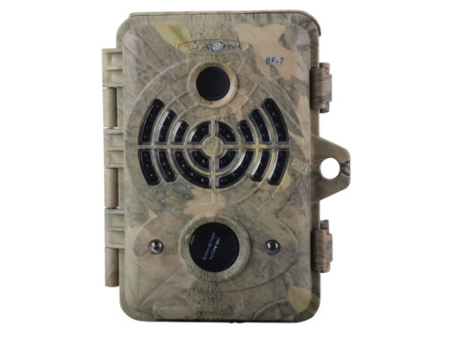 Spypoint BF-7 Black Flash Infrared Game Camera 7.0 Megapixel Spypoint Dark Forest Camo