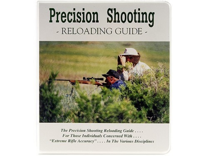 """Precision Shooting: Reloading Guide"" Book Edited by Dave Brennan"