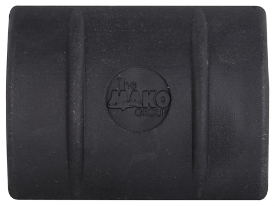 Mako Full Profile Picatinny Rail Cover Short Polymer Black Package of 3