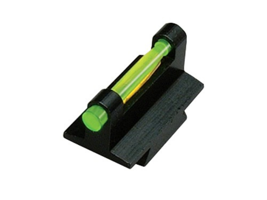 "HIVIZ Muzzleloader & Rifle Front Sight .375"" Dovetail Steel Fiber Optic with 6 Interchangeable Lite Pipes"