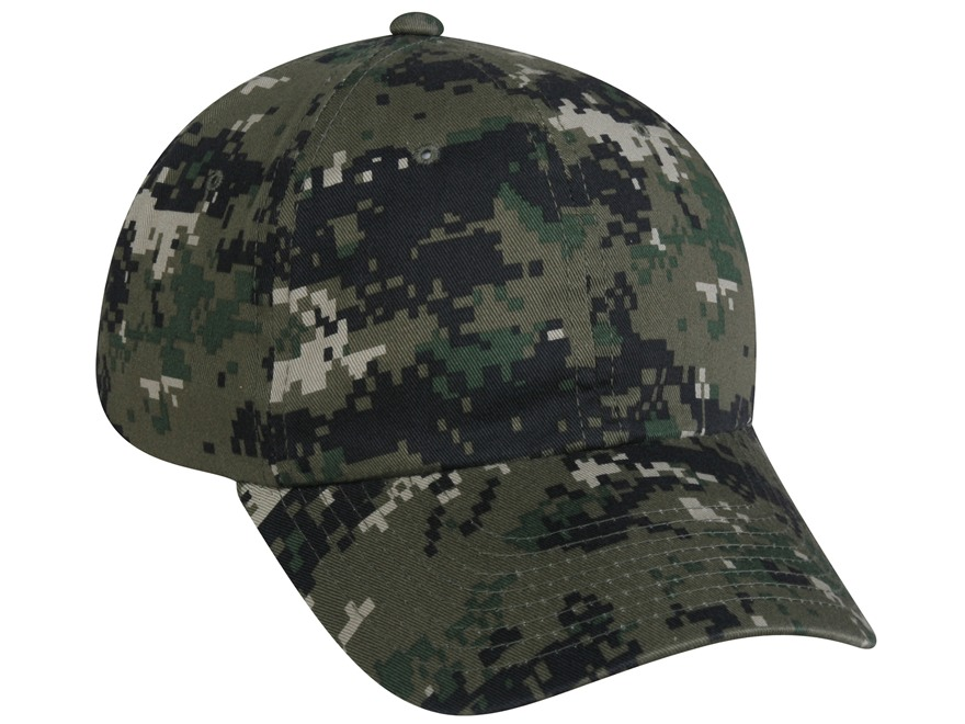 Outdoor Cap Low Profile Cap Cotton Olive Digital Camo