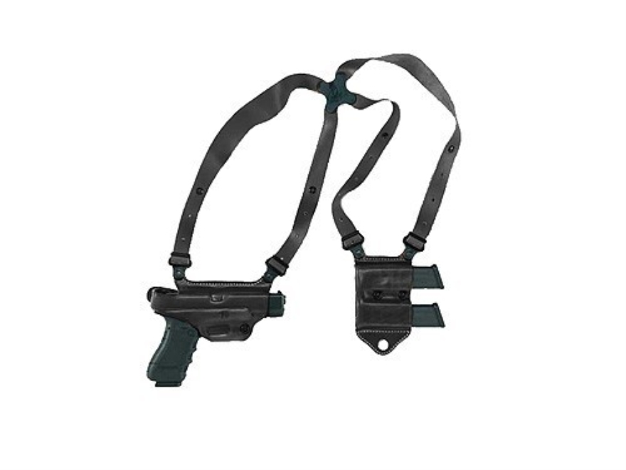 Galco Miami Classic 2 Shoulder Holster System Right Hand Glock 17, 19, 22, 23, 26, 27, ...