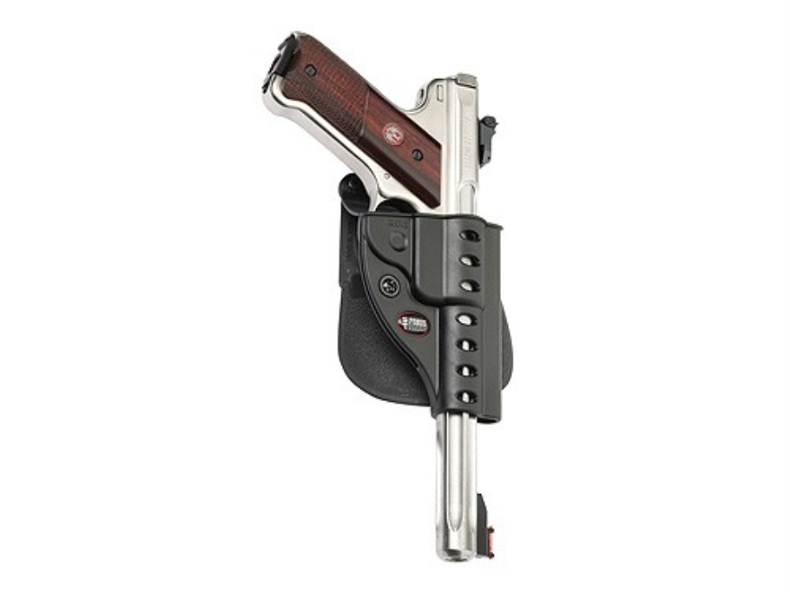 Fobus Evolution Roto Paddle Holster Right Hand Ruger Mark II, III Polymer Black