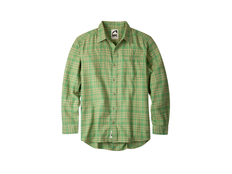 Mountain Khakis Men's Peden Plaid Flannel Shirt Long Sleeve Cotton