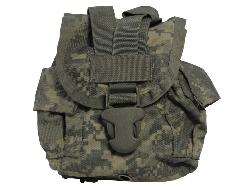 Military Surplus MOLLE II Canteen/General Purpose Pouch Nylon