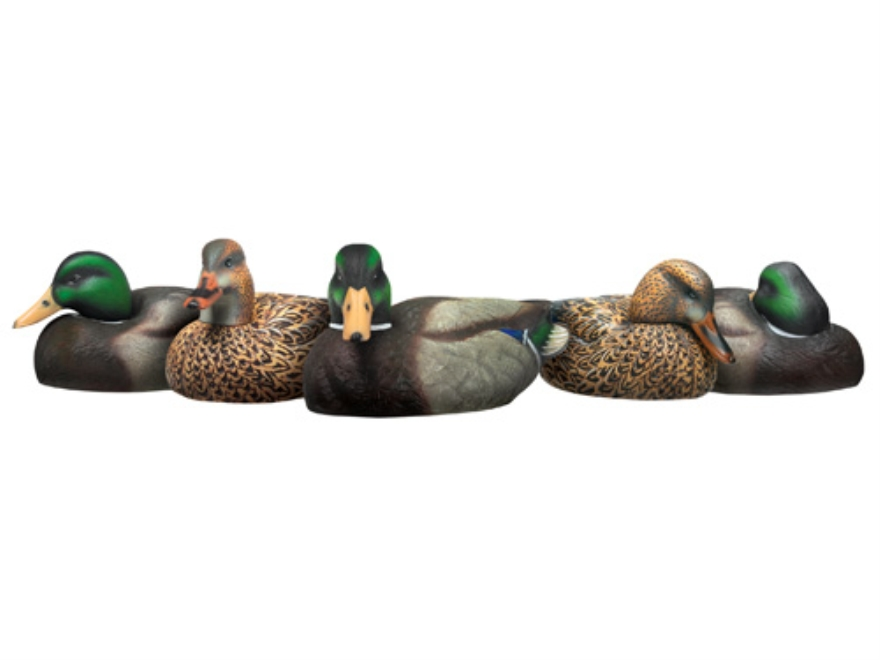 Drake Double Duty Weighted Keel Mallard Duck Decoys Pack Of 12