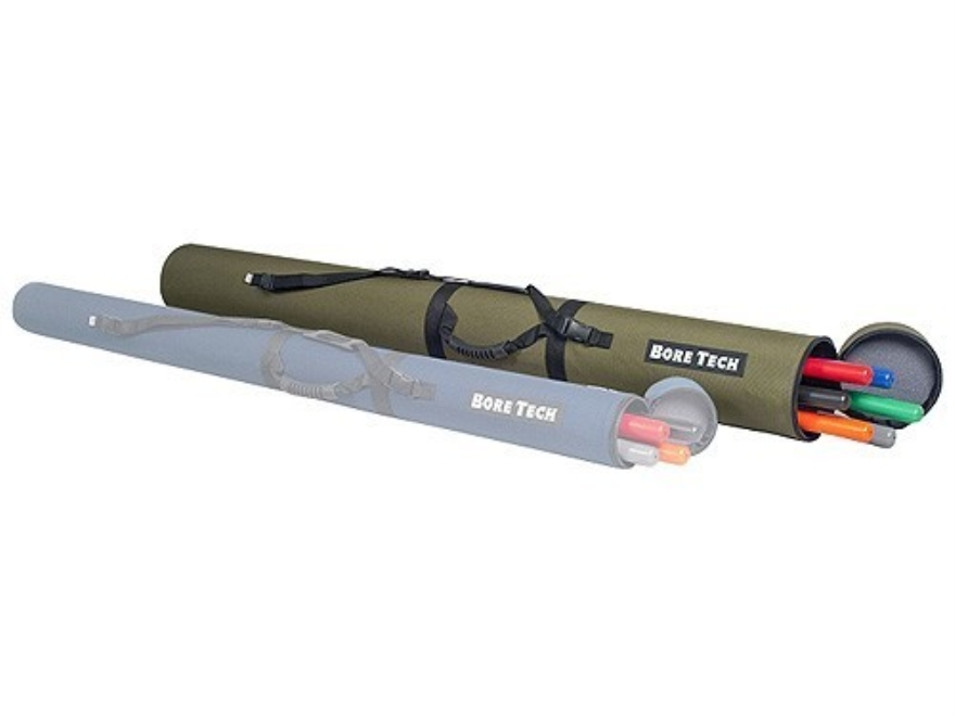 Bore Tech 6 Cleaning Rod Case Polymer Green
