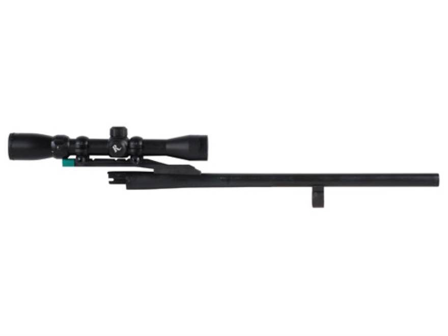 "Remington Barrel Remington 870 Special Purpose 20 Gauge 3"" 18-1/2"" Rifled with Cantilever Mount and Scope"